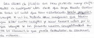 Lomce y Pisa_escritos alumnado