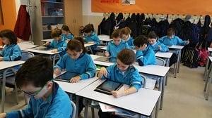 tablets en la escuela